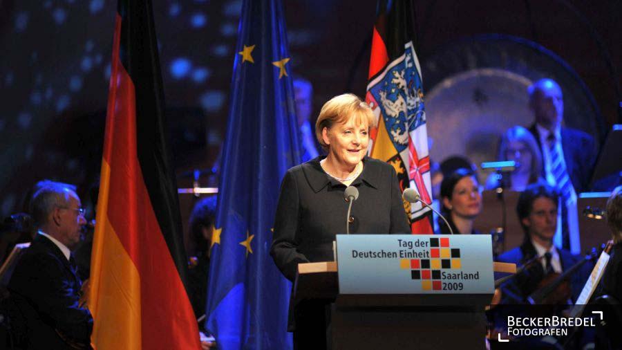 Festakt Tag der Deutschen Einheit, Congresshalle Saarbrücken