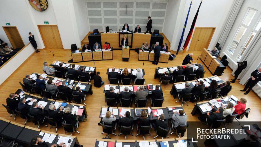 Plenarsitzung Landtag