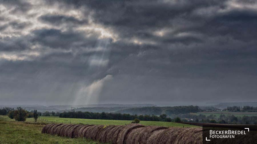 Sonee-Wolken-Mix in Frankreich
