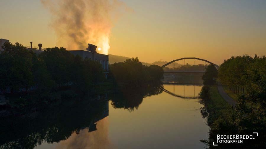 Sonnenaufgang an der Ostspange
