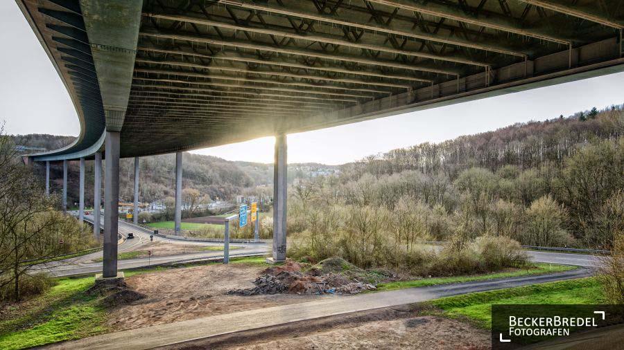 Fechinger Talbrücke einsturzgefährdet