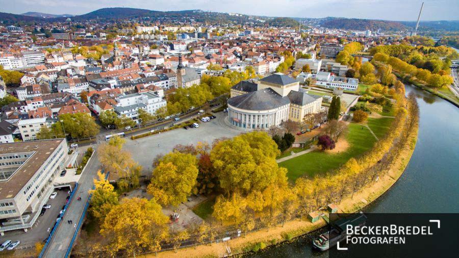 Herbst in Saarbrücken