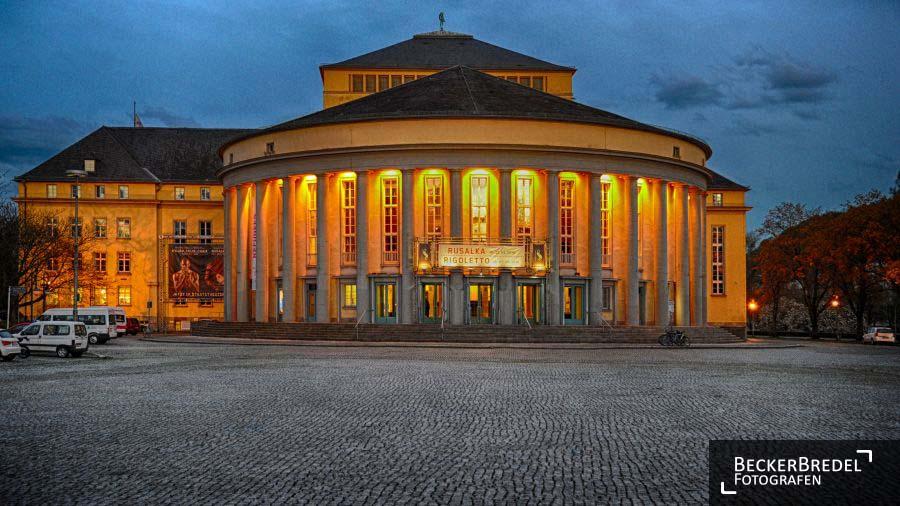 Innenstadt Saarbrücken Staatstheater