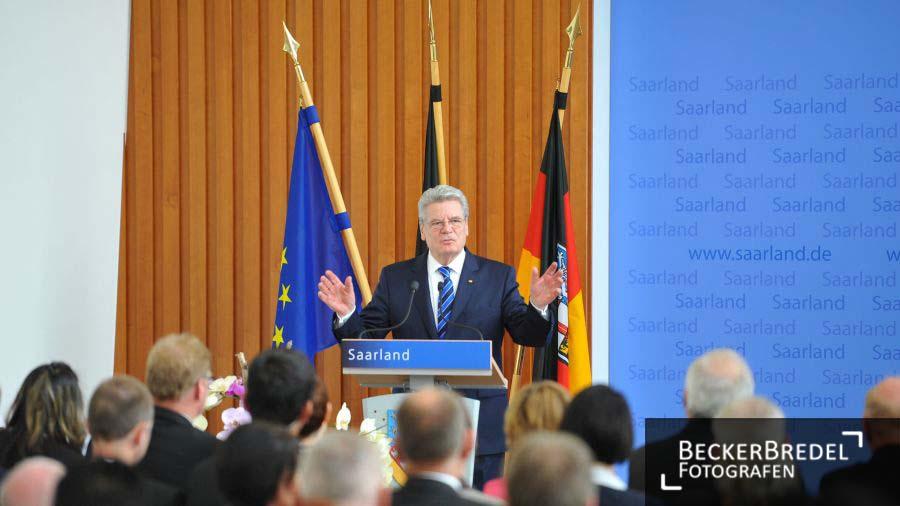 Bundespräsident im Saarland